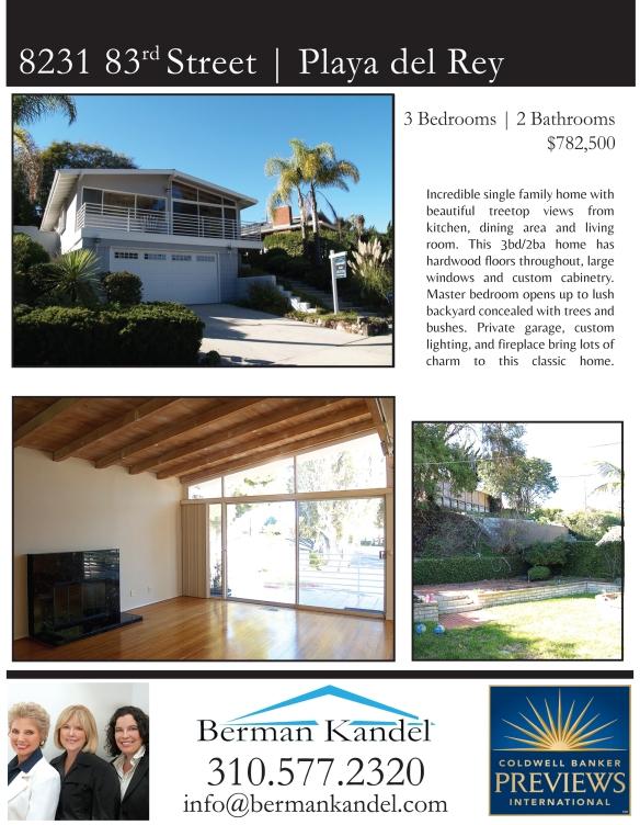 Property flyer - 8231 83rd St.