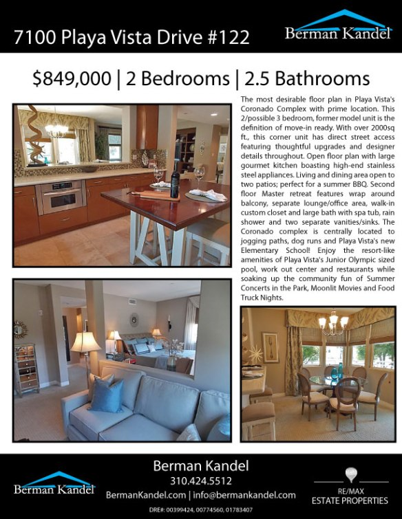 7100-Playa-Vista-Drive-#122---Property-Flier